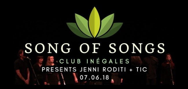 Song of Songs at Club Inegales